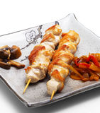 Japanese Cuisine - Chicken Fillet Royalty Free Stock Photo