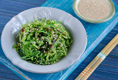 Japanese cuisine-chuka salad Royalty Free Stock Photography