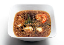 Japanese Cuisine - Fish Soup Royalty Free Stock Photography