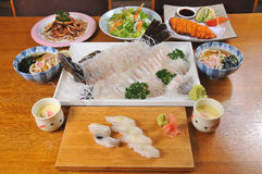 Japanese cuisine Royalty Free Stock Image