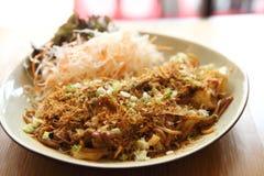 Japanese cuisine, frid noodles Yakisoba Stock Images