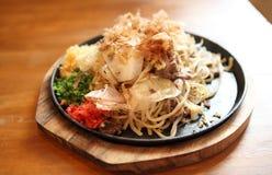 Japanese cuisine, frid noodles Yakisoba Stock Photo
