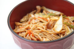 Fried noodles Yakisoba Royalty Free Stock Photography