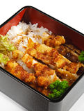 Japanese Cuisine - Fried Pork Stock Image