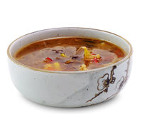 Japanese Cuisine - Hot Japan Soup Stock Images