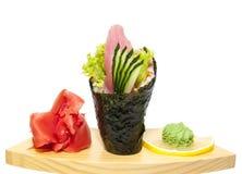 Japanese Cuisine In The Restaurant Stock Image