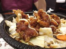 Japanese cuisine. Japanese bento set Royalty Free Stock Photography