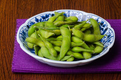 Japanese cuisine. japanese soybean on the background Royalty Free Stock Image