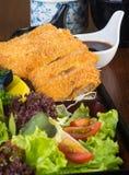 Japanese cuisine. lunch box set on background Stock Photos