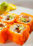Japanese Cuisine - Maki Sushi Royalty Free Stock Photos