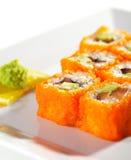 Japanese Cuisine - Maki Sushi Stock Images
