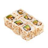 Japanese cuisine. Maki sushi. Royalty Free Stock Photo