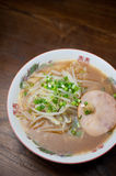 Japanese Cuisine Miso Ramen (Sapporo style) Stock Images