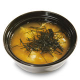 Japanese Cuisine - Miso Soup royalty free stock photos