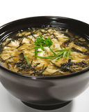 Japanese Cuisine - Miso Soup Royalty Free Stock Photography