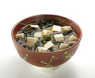 Japanese Cuisine - Miso Soup Royalty Free Stock Images