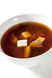 Japanese Cuisine - Miso Soup Royalty Free Stock Image