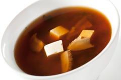 Japanese Cuisine - Miso Soup Stock Photos