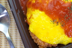 Japanese cuisine omelette Royalty Free Stock Images