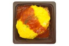 Japanese cuisine omelette Royalty Free Stock Image