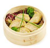 Japanese Cuisine - Pork Dumplings Stock Photos