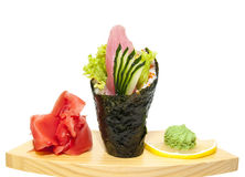 Japanese cuisine in the restaurant Stock Image