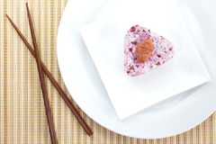 Japanese cuisine, rice ball Onigiri Stock Photography