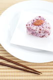 Japanese cuisine, rice ball Onigiri Stock Images