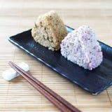 Japanese cuisine, rice ball Onigiri Stock Photography
