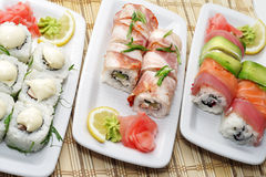 Japanese Cuisine - Rolls Stock Images