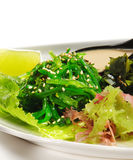 Japanese Cuisine - Seaweed Salad Stock Photography