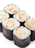 Japanese Cuisine - Shrimp Roll Stock Photography