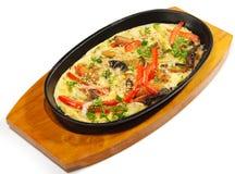 Japanese Cuisine - Smoked Sea Eel Stock Photography