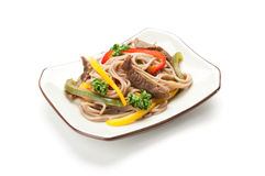 Japanese Cuisine, Soba Noodle Stock Photos