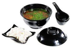 Japanese Cuisine -- Soup Royalty Free Stock Images