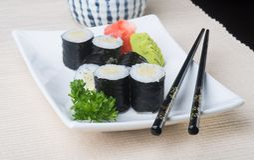 Japanese cuisine. sushi on the background. Japanese cuisine. sushi on background stock photo