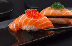 Japanese cuisine. Sushi. Royalty Free Stock Photography