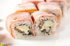 Japanese Cuisine - Sushi Royalty Free Stock Image