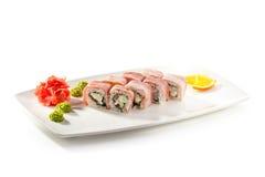 Japanese Cuisine - Sushi Royalty Free Stock Photography