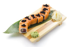 Japanese cuisine. Sushi. Royalty Free Stock Photos