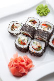 Japanese Cuisine - Sushi Stock Photo