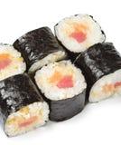 Japanese Cuisine - Sushi Rolls Stock Image