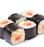 Japanese Cuisine - Sushi Rolls Royalty Free Stock Photos