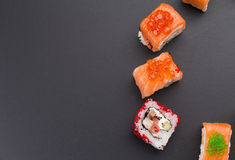 Japanese cuisine. Sushi. Stock Photo