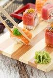 Japanese cuisine. Sushi. Royalty Free Stock Photo