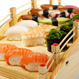 Japanese Cuisine - Sushi Set Stock Image