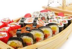 Japanese Cuisine - Sushi Ship Stock Photo