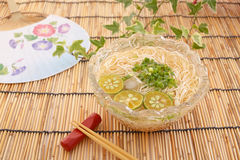Japanese cuisine. On the table Stock Image