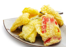 Japanese Cuisine - Tempura Vegetables Stock Image