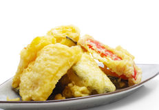 Japanese Cuisine - Tempura Vegetables Stock Images